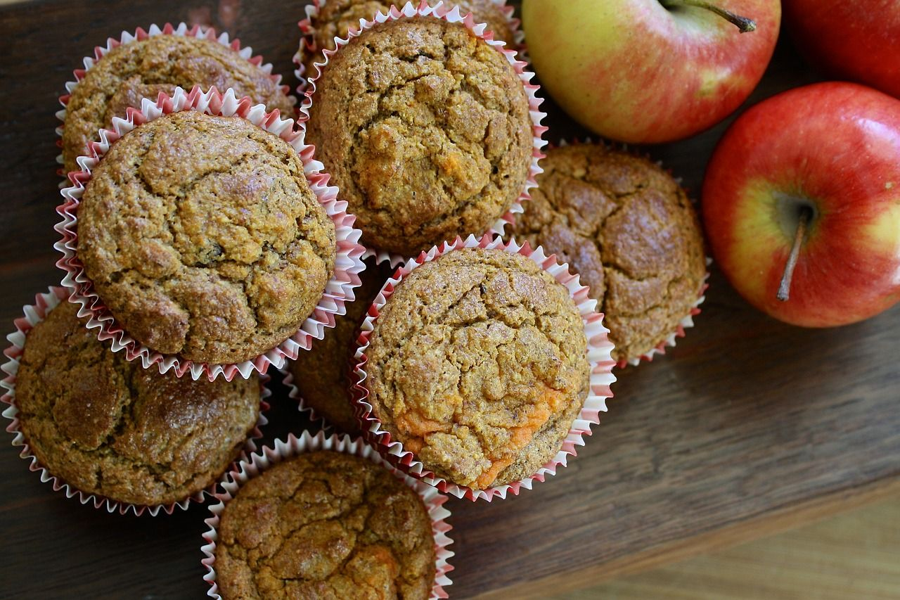 muffins and healthy muffins