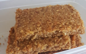 Apple Walnut Granola Bars